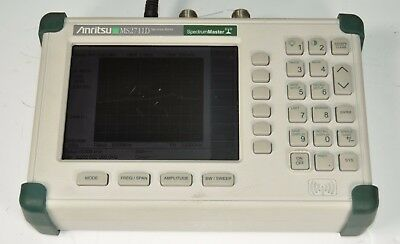 Anritsu MS2711D Handheld Spectrum Analyzer 100kHz 3GHz OPT 21 | No Battery