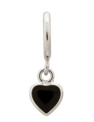 Charms & Charm Bracelets New Endless Jewelry 43268-3 Red Enamel Heart Drop Charm Sterling Silver Fashion Jewelry