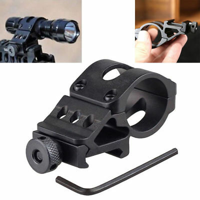 Rifle Offset Rifle Scope Flashlight Torch Laser Weaver For Picatinny Rail Mount