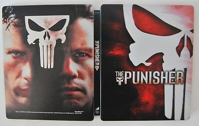 The Punisher (Blu-ray, 2009) in steelbook edition for collectors