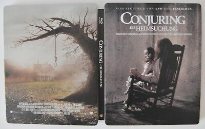 The Conjuring (Blu-ray, 2013) in steelbook edition for collectors