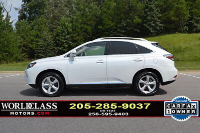 2015 Lexus RX AWD 4dr 1-Owner 2015 Lexus RX350 AWD, Factory Warranty, pearl white/tan! --SHARP--