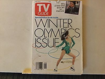 tv guide feb.8-14 1992 winter Olympics issue