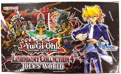 Yu-Gi-Oh! Yugioh Legendary Collection 4 Joey's World Factory Sealed Box