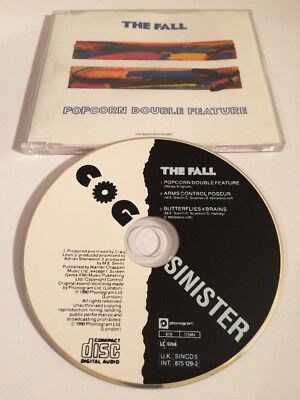 The Fall - Popcorn Double Feature - Rare Cd Single