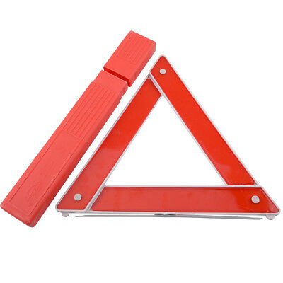 Car Foldable Red Reflective Warning Triangle Emergency Breakdown Safety Hazard