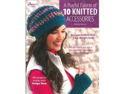 Annie's 10 Knitted Accessories Bk