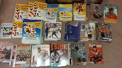 COLLECTION of over 400 Sheffield Steelers HOMEprogrammes 91/92 -2010