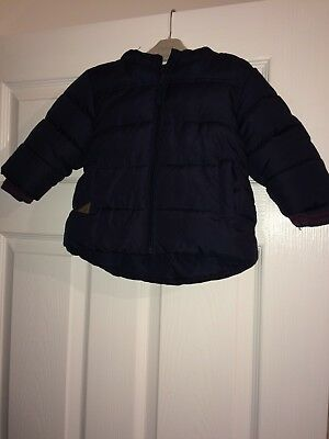 Next Baby Boys 9-12 Months Coat