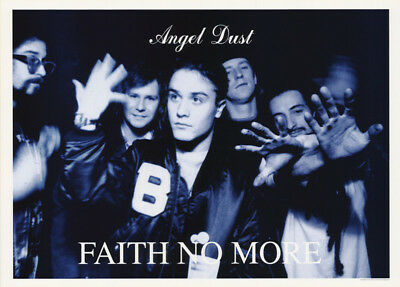 Lot Of 2 Posters :music : Faith No More - Angel Dust - Free Shipping!     Lw12 R