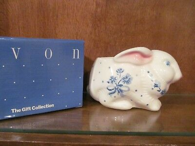 Avon Country Bunny Planter Nib Nos