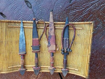 antique arm daggers from chad and north west sudan