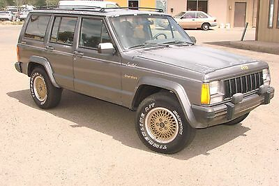 1988 Jeep Cherokee LIMITED John Ericson's 1988 Jeep Cherokee Limited - all original!