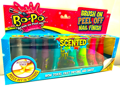 Bo-Po  Nail Polish Scented Super Pack - includes 8x colours