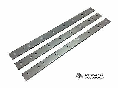 "12-1/2"" inch Planer Blades Knives for Dewalt DW734, replaces DW7342, Set of 3"