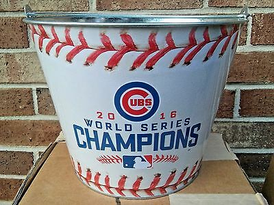 Chicago Cubs/Budweiser 2016 World Series Baseball Beer Sign Bucket.....Brand New