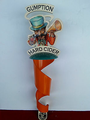 Woodchuck/Pabst Gumption Hard Cider Beer Sign Tap Handle..NIB.
