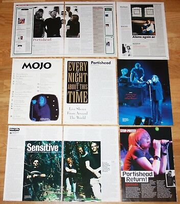 PORTISHEAD clippings photos magazine articles cuttings music