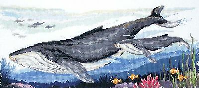 Humpback Whales -  Cross Stitch Chart - Country Threads