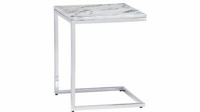 CB2 - Smart Marble C Side Table