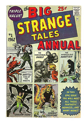 Strange Tales Annual #1  Silver Age Monster Giant  Lee,Kirby,Ditko