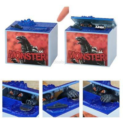 1x Electronic Godzilla Coin Bank M oney Box Monsters Movie Character Piggy Bank
