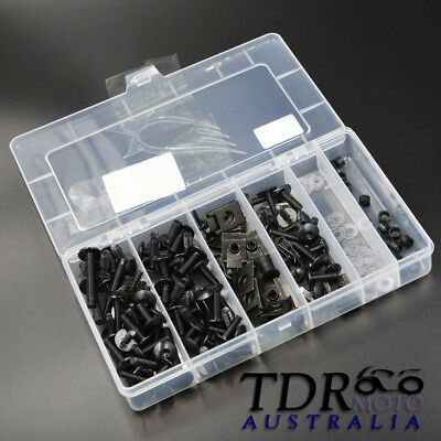 Complete Fairing Bolts Screws Fasteners Kit For Yamaha YZF 1000 R1 600 R6 Black