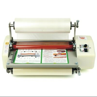 12 Generation 8350 Laminator Four Rollers Hot Roll Laminating Machine A3+ NEW