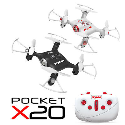 SYMA X20 Mini RC Quadcopter Pocket Drone 2.4Ghz 4CH Altitude Hold Headless Mode