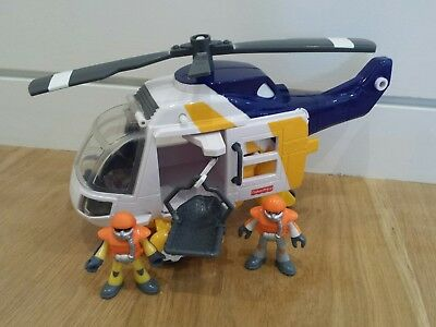 Fisher Price Imaginext Rescue Helicopter