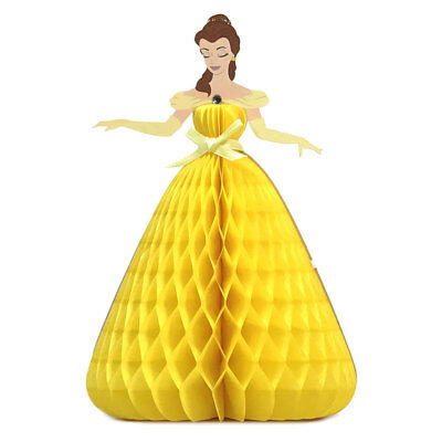 Disney Princess Belle Honeycomb Multipurpose Pop Up Greeting Card