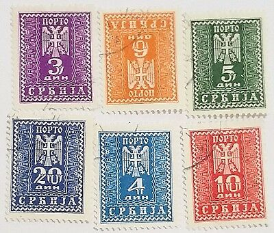 Serbia 1947 Stamps.....worldwide Stamps