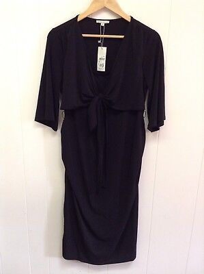 BNWT Black Maternity dress Size 14