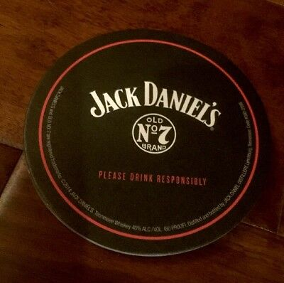 "Jack  Daniels Old Number ""7"" Bar Coasters Lot Of 10 Save Free Shipping"