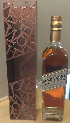 Johnnie Walker Gold Label Reserve 750ml with J.W Casing ( unusual ) new