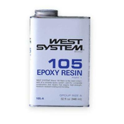 West System 105A Epoxy Resin 1 Quart, Clear