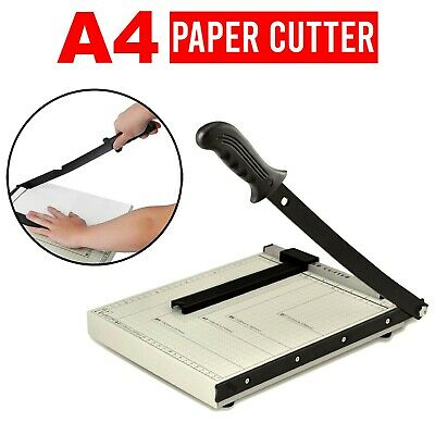 Office Professional A3 / A4 Paper Cutter Guillotine Trimmer Machine Safety Guard