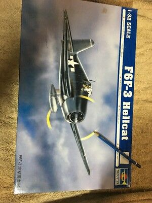 Trumpeter 1/32 Scale Hellcat F6F-3 Model Kit