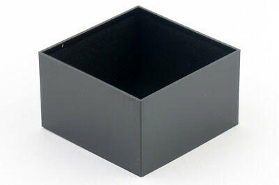 2 x Miniature Potting Boxes PB Series Black Packs of 2 All Sizes Stocked ABS Box