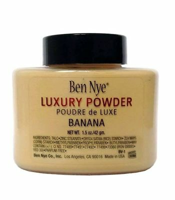 Ben Nye - Banana Luxury Powder Puder 42 g.