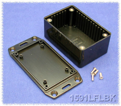 Hammond 1591 ABS Electronics Enclosure Flanged Lid Flame Retardant All Sizes