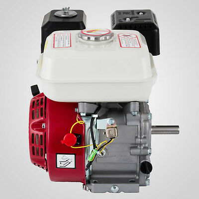 6.5HP Petrol Stationary Engine 4 Stroke Horizontal Shaft OHV Air-cooled Manual