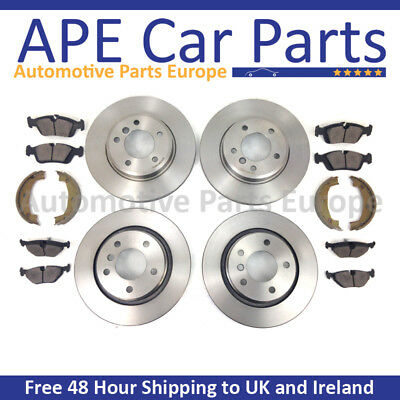 BMW E46 320 DIESEL 320D 325 M SPORT 2000-2005 FRONT AND REAR BRAKE DISCS NEW SET