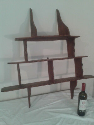 Antique display  wall shelves