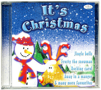 It's Christmas kids CD. 23 Xmas children's songs, poems & carols *NEW & WRAPPED*