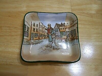 Royal Doulton Dickens Ware Bill Sykes dish 5 in. collectibles England china dog