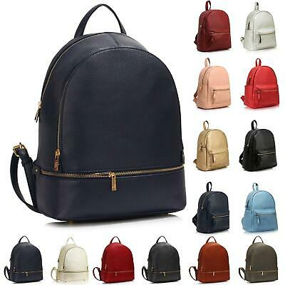Ladies Backpack Women Rucksack Fashion Bags Leather School Large New Travel Girl