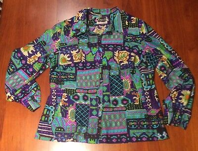 Kenwall 60's Women's Vintage Size 18 1/2 Shirt
