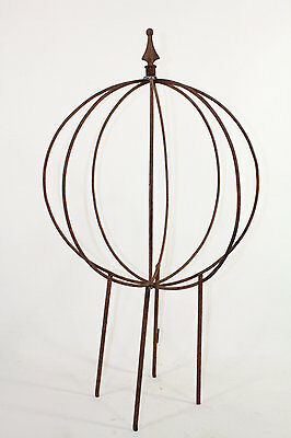 Wrought Iron Tommee  Topiary Garden Plant Support Trellis