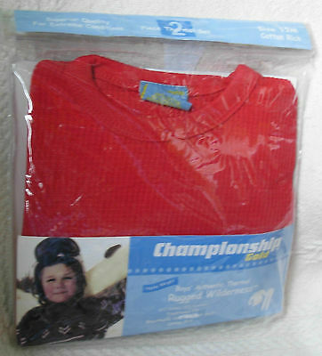 New Quality Red Size 12 Months Boys Quality Thermal Underwear Set Long Johns